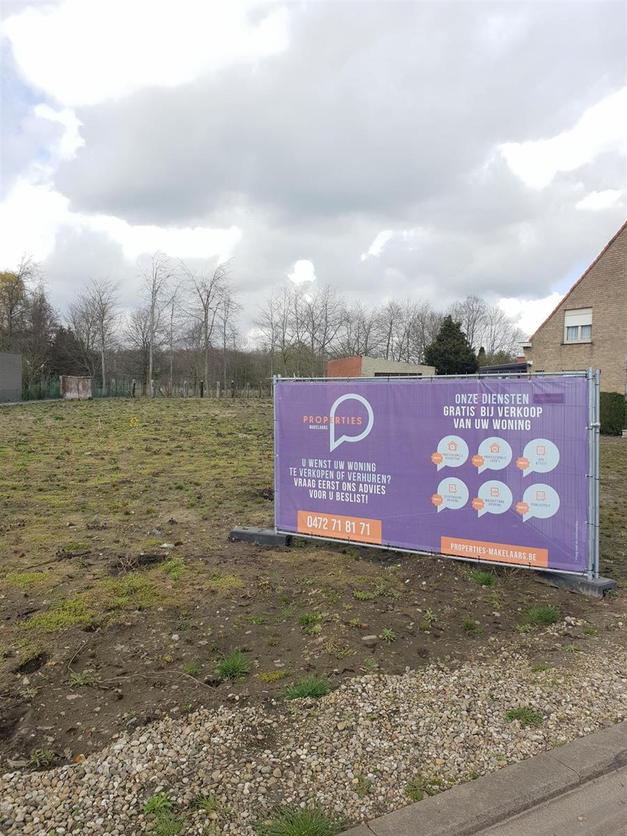 Goed gelegen bouwgrond voor OB te Evergem 727m2