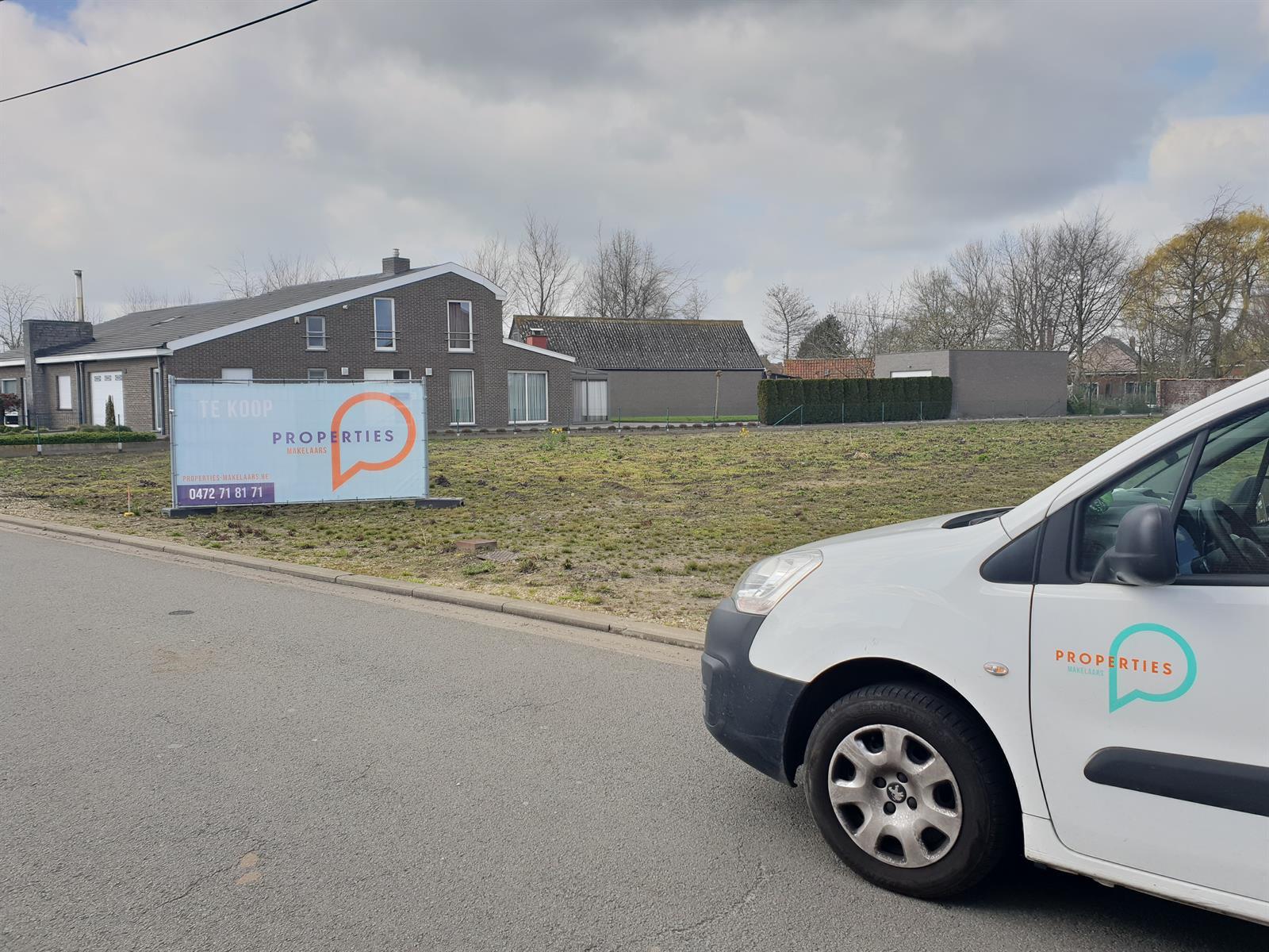 Mooi stuk bouwgrond voor OB van 711m2 te Evergem