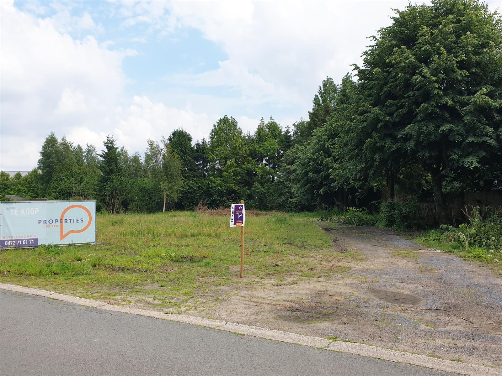 Schitterend gelegen bouwgrond voor OB op de grens met de Latemse bossen!